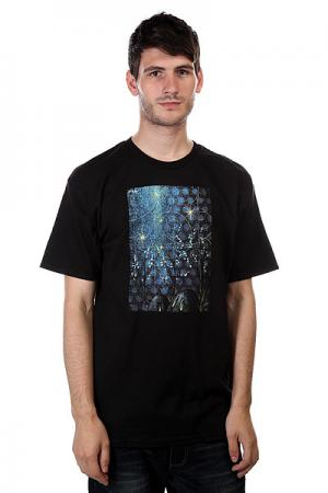 Футболка  Tees Ota X Risk Black Osiris. Цвет: черный