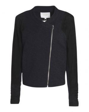 Куртка MAJE. Цвет: черный