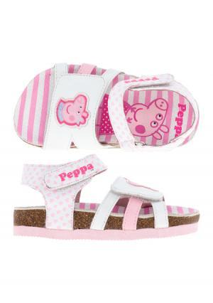 Сандалии Peppa Pig. Цвет: белый
