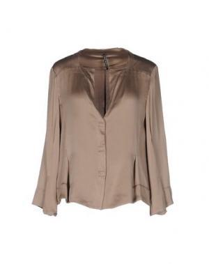 Pубашка LIVIANA CONTI. Цвет: хаки