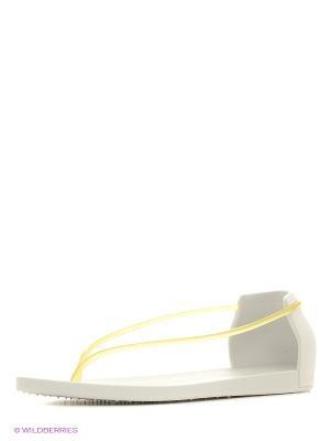 Сандалии Ipanema. Цвет: молочный, желтый