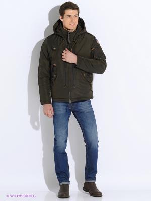 Куртка VIZANI. Цвет: коричневый