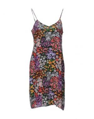 Платье до колена EQUIPMENT FEMME. Цвет: фиолетовый