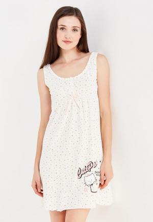 Сорочка ночная TrendyAngel. Цвет: бежевый