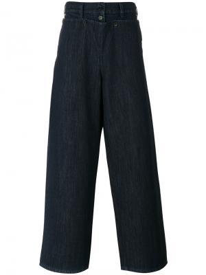 Джинсовые брюки Montauk Société Anonyme. Цвет: синий