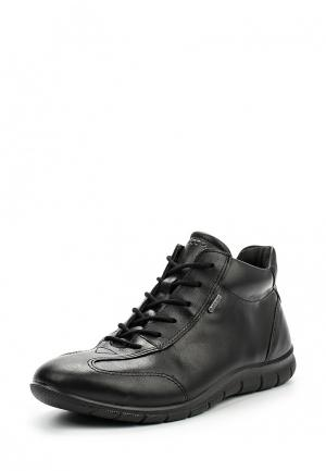 Ботинки Ecco. Цвет: черный