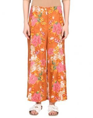 Повседневные брюки OPALINE. Цвет: коричневый