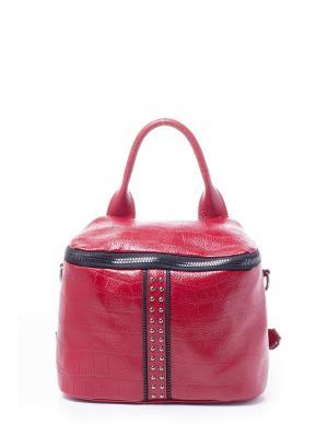 Рюкзак RENEE KLER. Цвет: красный