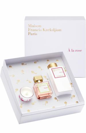 Набор A La Rose Maison Francis Kurkdjian. Цвет: бесцветный