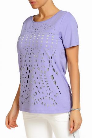 Блуза SARAH KERN. Цвет: фиолетовый