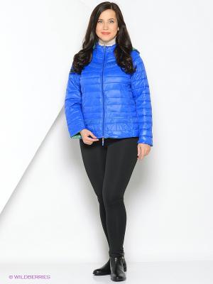 Куртка Fiorella Rubino. Цвет: синий, зеленый