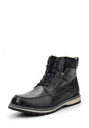 Ботинки s.Oliver. Цвет: черный