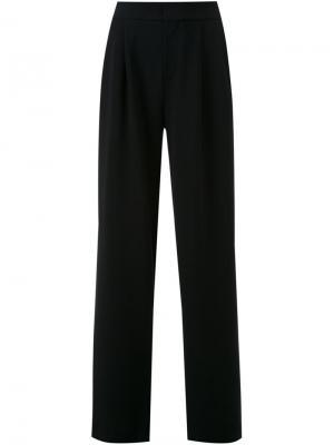 Широкие брюки Scanlan Theodore. Цвет: чёрный