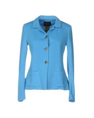 Пиджак IANUX. Цвет: бирюзовый