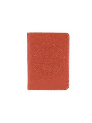 Бумажник водителя FABULA. Цвет: рыжий