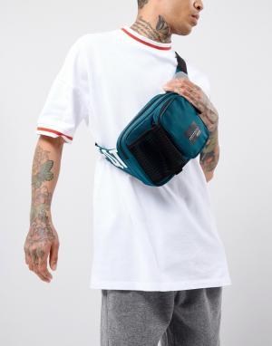 Adidas Originals Зеленая сумка через плечо EQT CE5568. Цвет: зеленый