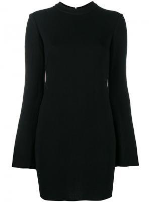 Мини-платье с рукавами-колокол Ellery. Цвет: чёрный