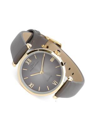Часы на ремне IBSO. Цвет: темно-серый