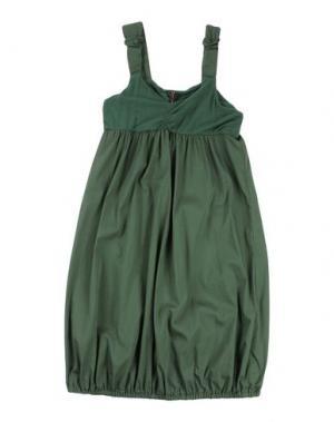Платье MANILA GRACE. Цвет: зеленый
