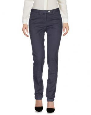 Повседневные брюки G.T.A. MANIFATTURA PANTALONI. Цвет: грифельно-синий