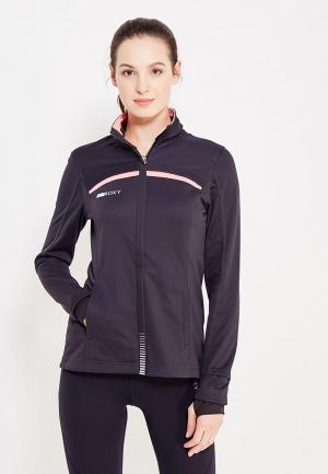 Куртка спортивная Roxy. Цвет: черный
