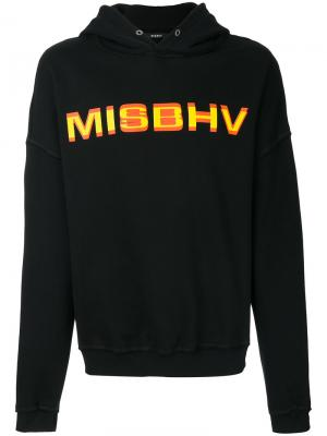Худи с логотипом Misbhv. Цвет: чёрный