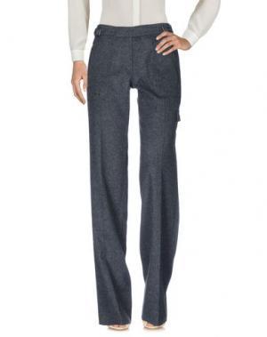 Повседневные брюки BARBARA BUI. Цвет: стальной серый