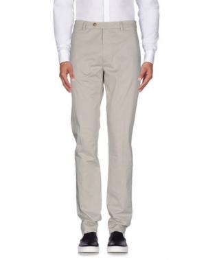 Повседневные брюки BLAUER. Цвет: светло-серый