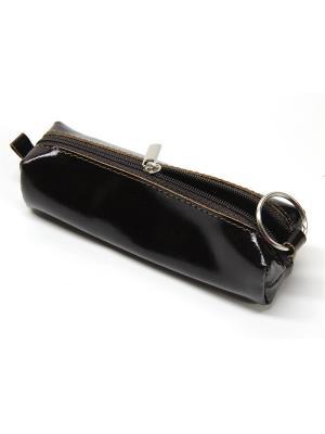 Футляр для ключей/ключница Вектор. Цвет: коричневый