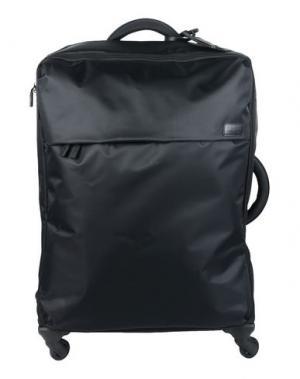 Чемодан/сумка на колесиках LIPAULT. Цвет: черный