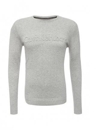 Джемпер Calvin Klein Jeans. Цвет: серый