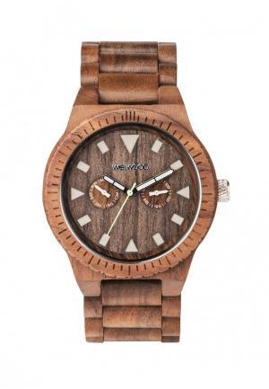 Часы Wewood. Цвет: коричневый