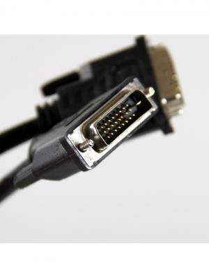 Кабель DVI-D вилка - Dual Link, 1.8 м. Pro Legend. Цвет: черный