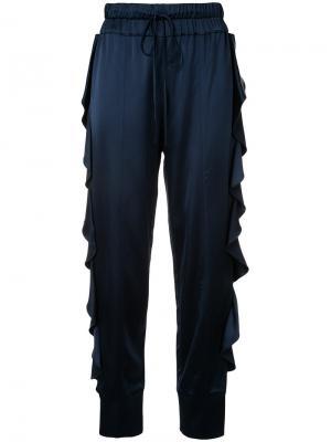 Ink Blot trousers Manning Cartell. Цвет: синий