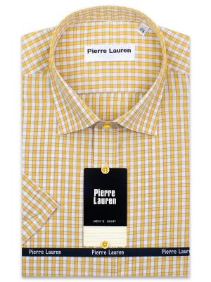 Рубашка Pierre Lauren. Цвет: желтый