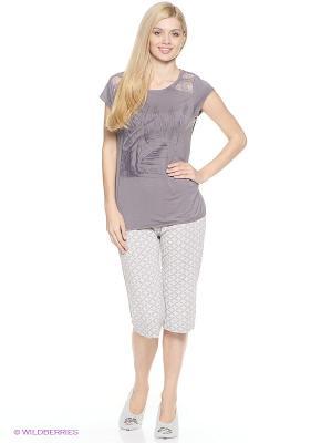 Комплект одежды HAYS. Цвет: серый, темно-серый