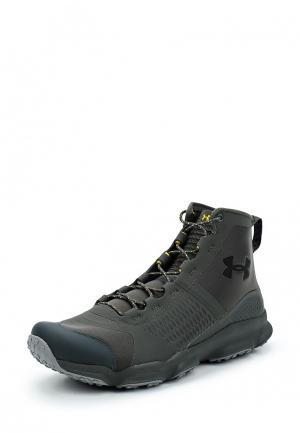 Ботинки трекинговые Under Armour. Цвет: серый