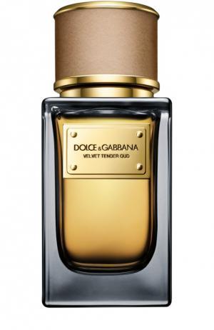 Парфюмерная вода Velvet Collection Tender Oud Dolce & Gabbana. Цвет: бесцветный