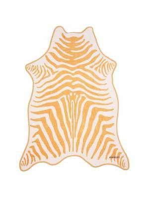 Пляжное полотенце Animal skin MIMICOCO. Цвет: бежевый