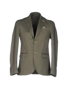 Пиджак ROBERTO PEPE. Цвет: зеленый-милитари