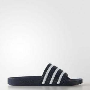 Сланцы adilette  Originals adidas. Цвет: белый