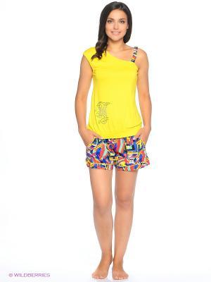 Комплект одежды NICOLETTA. Цвет: желтый