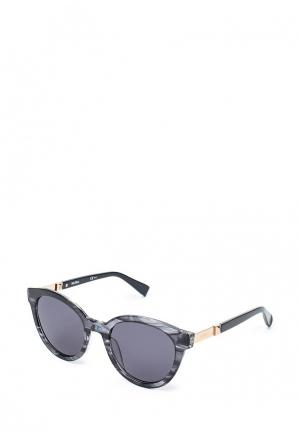 Очки солнцезащитные Max Mara. Цвет: синий