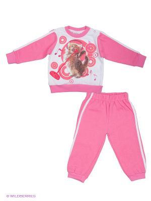 Комплект EWIVA. Цвет: розовый