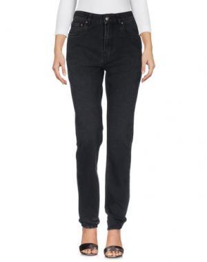Джинсовые брюки ROCKINS. Цвет: черный