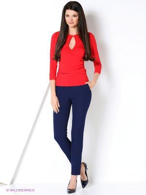 Блузка PRIZZARO. Цвет: красный