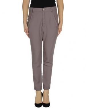 Повседневные брюки NELL&ME. Цвет: розовато-лиловый