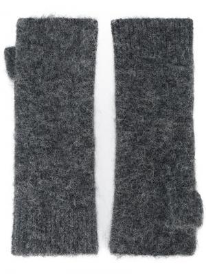 Перчатки без пальцев Cruz Isabel Marant. Цвет: серый