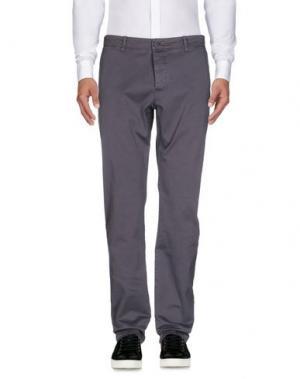 Повседневные брюки YMC YOU MUST CREATE. Цвет: серый