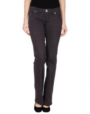 Джинсовые брюки SEVEN7. Цвет: баклажанный